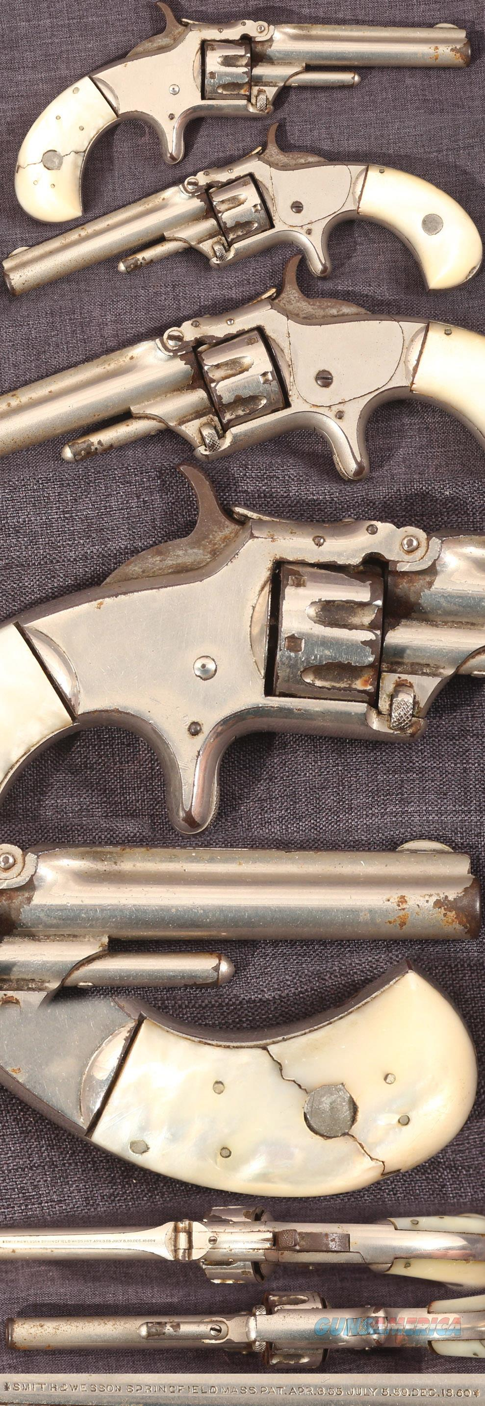 Smith & Wesson first model, third issue 22 revolver  Guns > Pistols > Smith & Wesson Revolvers > Pre-1899