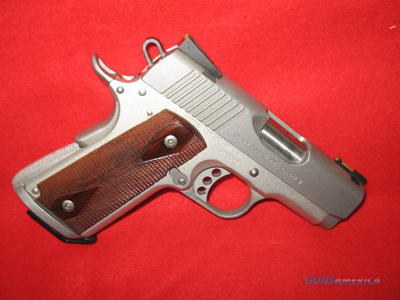 Kimber Stainless Ultra Carry II  Guns > Pistols > Kimber of America Pistols > 1911