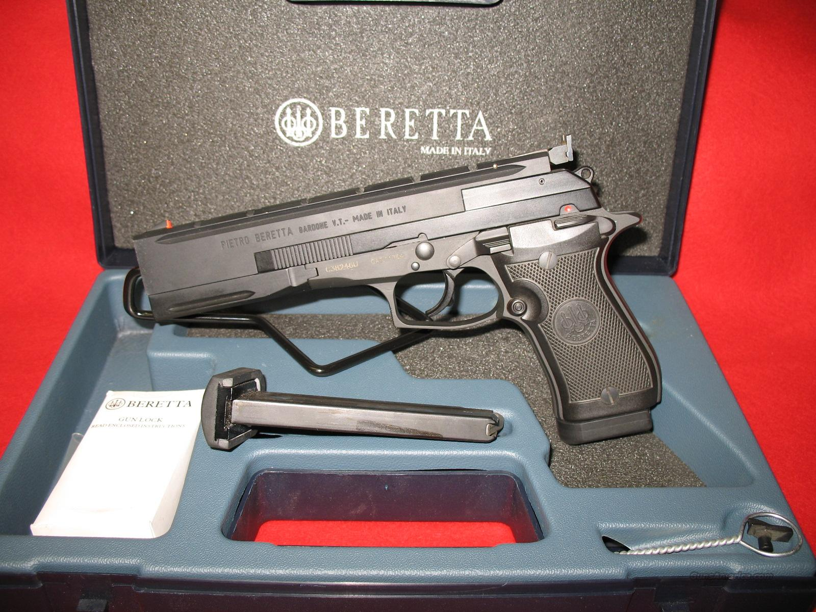 BERETTA MODEL 87 TARGET PISTOL   Guns > Pistols > Beretta Pistols > Rare & Collectible