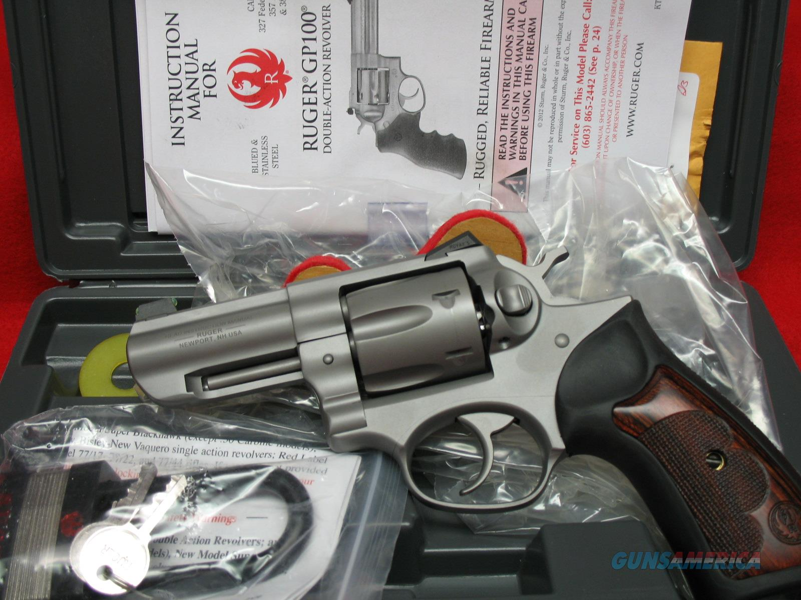 Ruger GP100 Wiley Clapp Special Edition  Guns > Pistols > Ruger Double Action Revolver > GP100