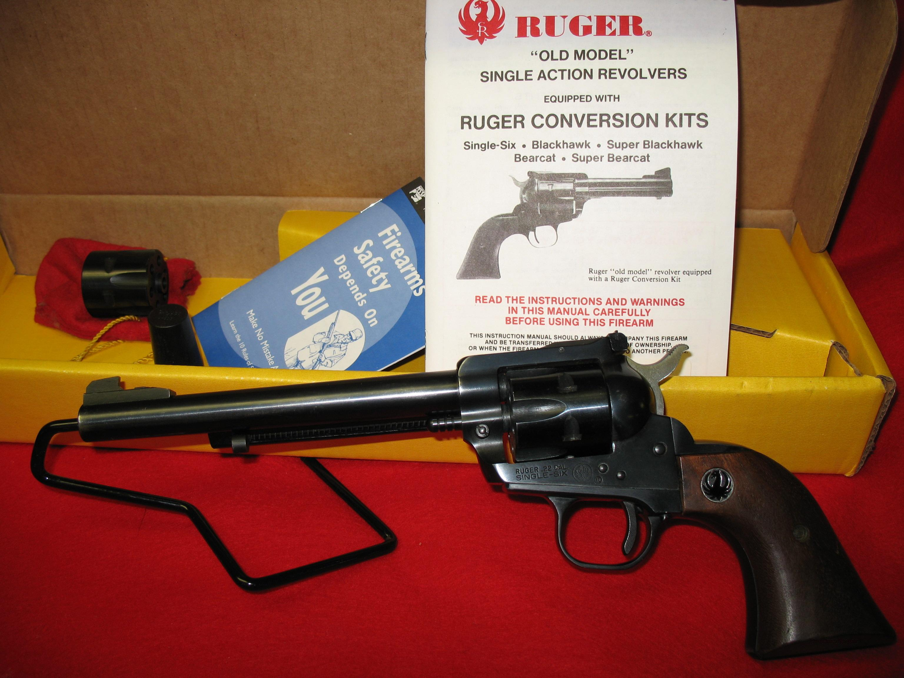 RUGER '' OLD MODEL'' SINGLE SIX  Guns > Pistols > Ruger Single Action Revolvers > Single Six Type