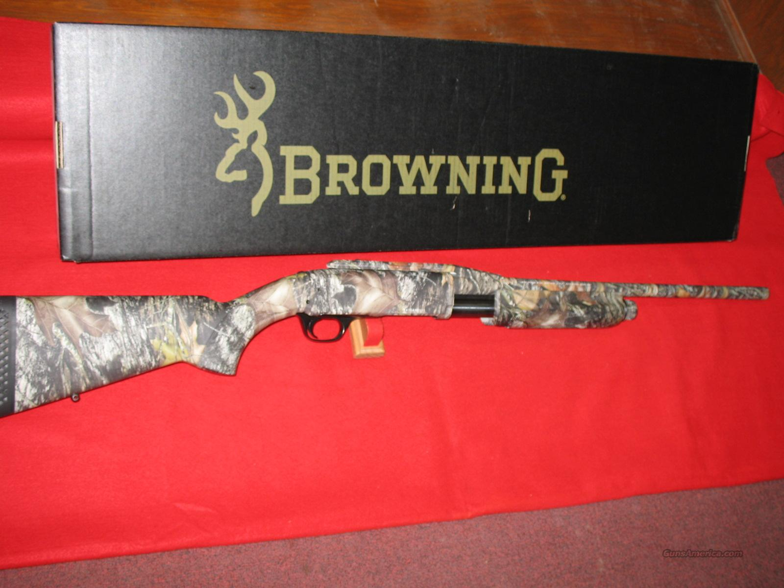 BROWNING BPS DEER SPECIAL- CAMO  Guns > Shotguns > Browning Shotguns > Pump Action > Hunting