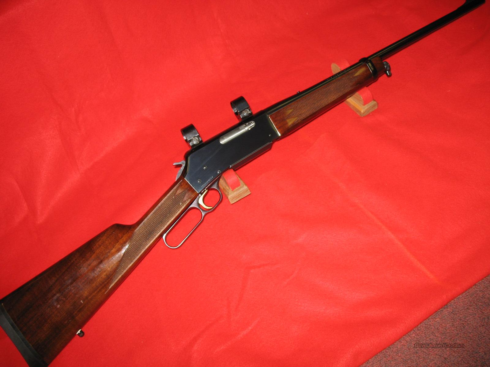 BROWNING 81 BLR  .358 RIFLE  Guns > Rifles > Browning Rifles > Lever Action