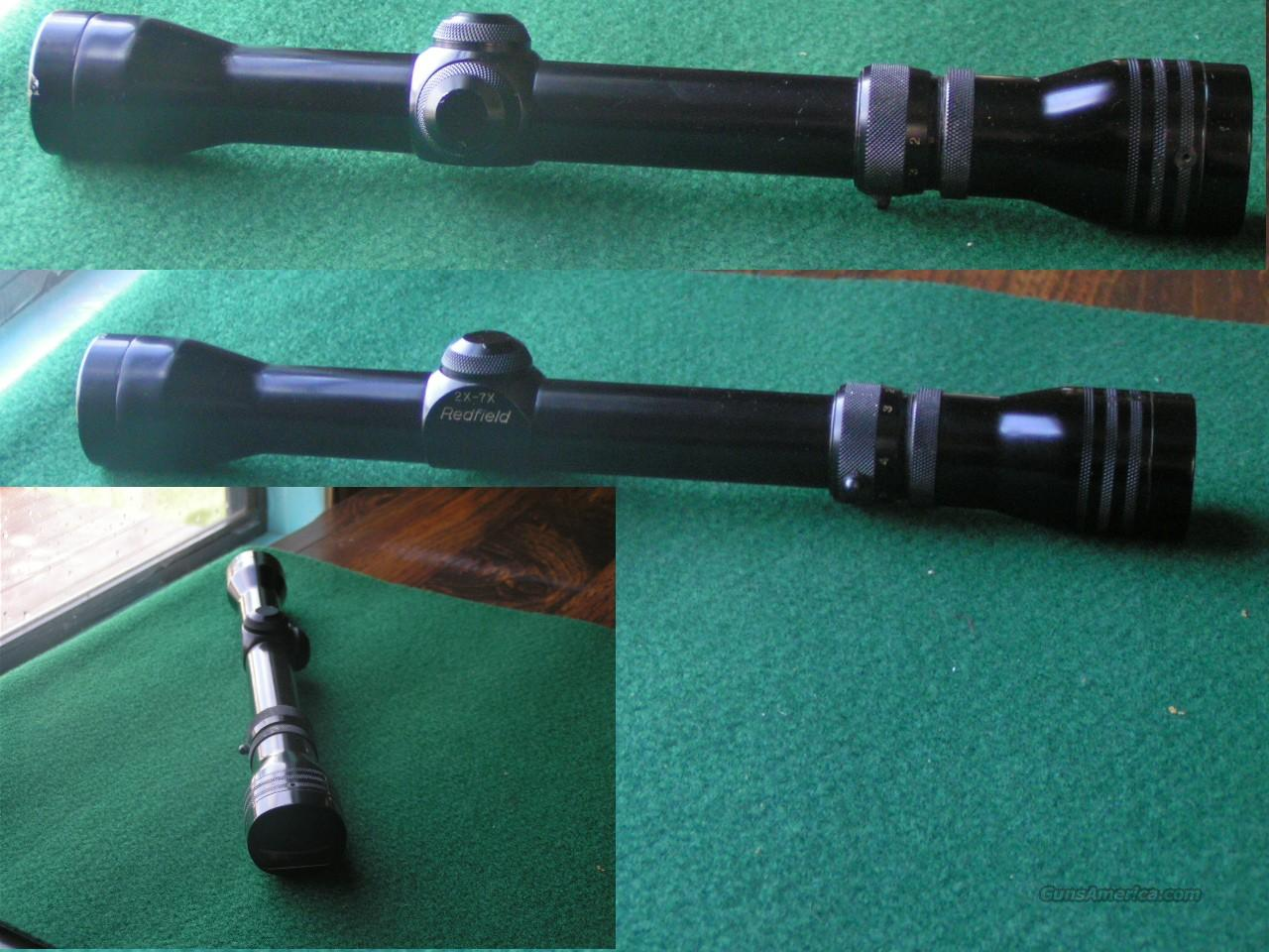 Redfield 2 x 7 Wideview  Non-Guns > Scopes/Mounts/Rings & Optics > Rifle Scopes > Variable Focal Length
