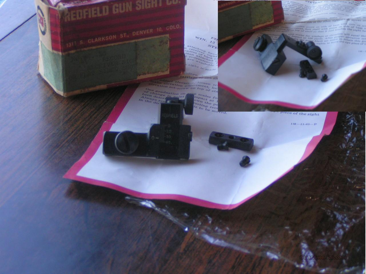 REDFIELD RECIEVER SIGHT RE-SG  Non-Guns > Iron/Metal/Peep Sights