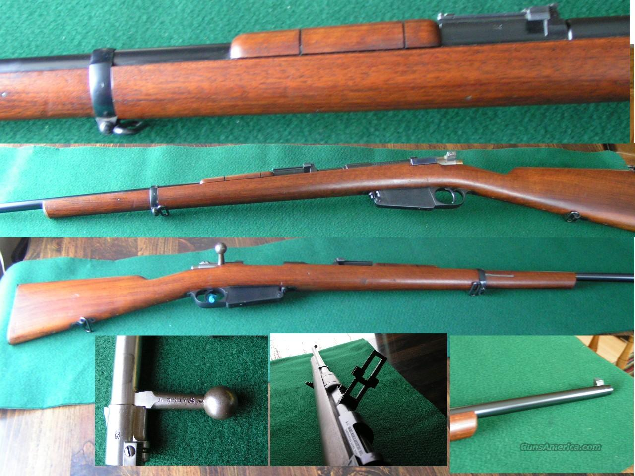 1891 Argentine Mauser 7.65 Cal. All Matching  Guns > Rifles > Mauser Rifles > German