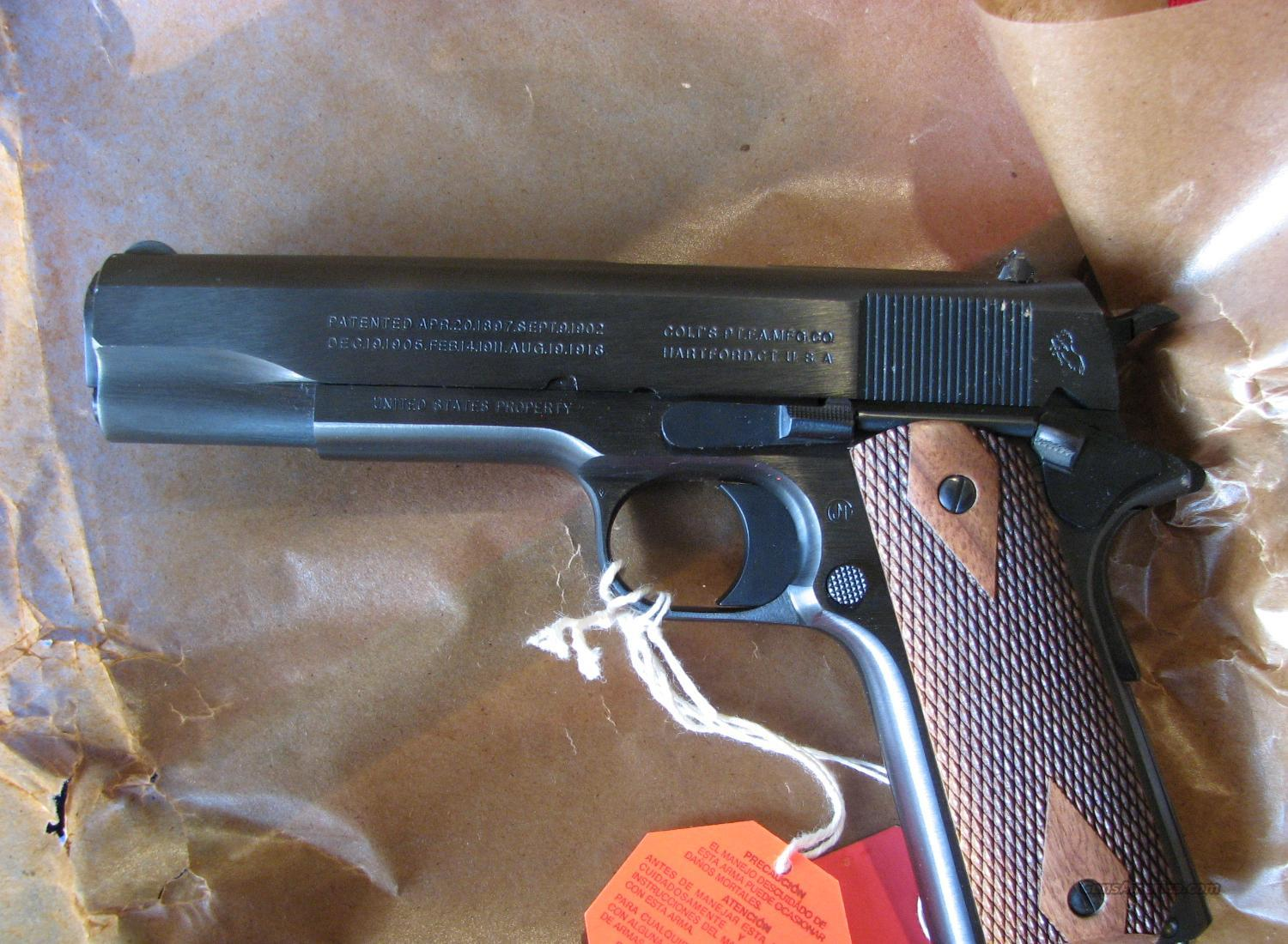 Colt WW1 1911 Reproduction, Model 1918  Guns > Pistols > Colt Automatic Pistols (1911 & Var)