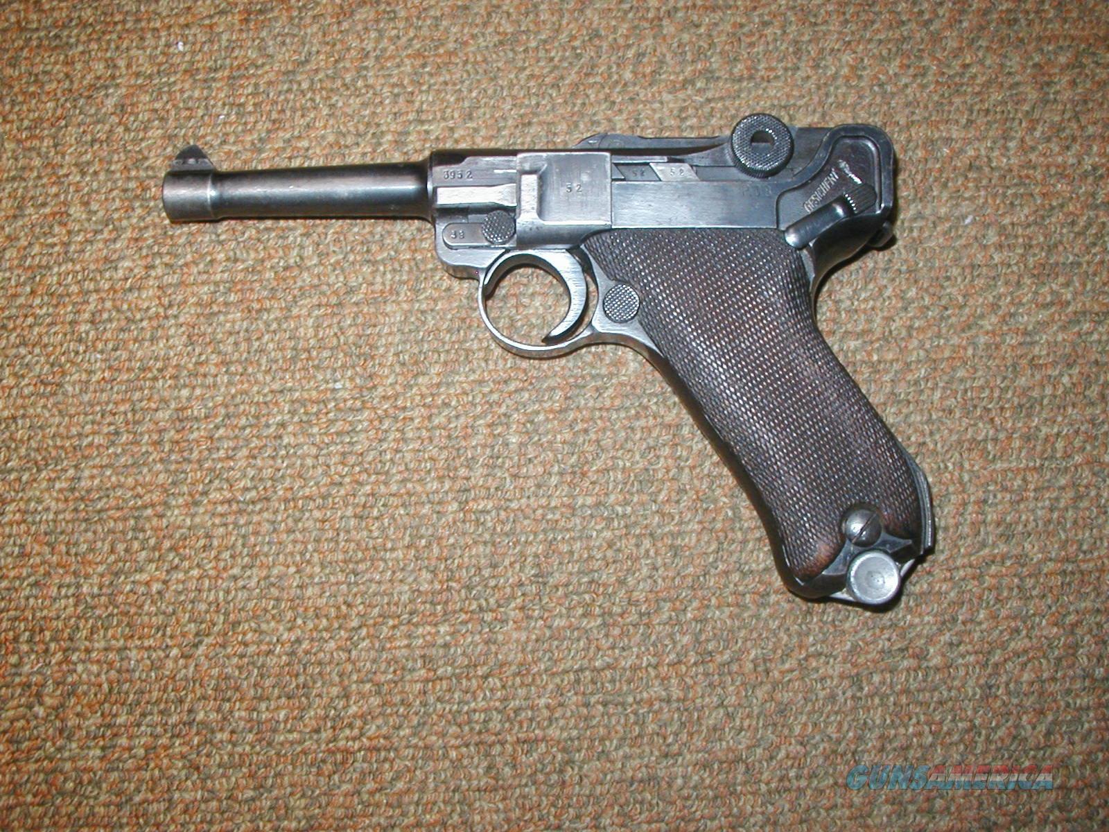 MAUSER LUGER  Guns > Pistols > Mauser Pistols