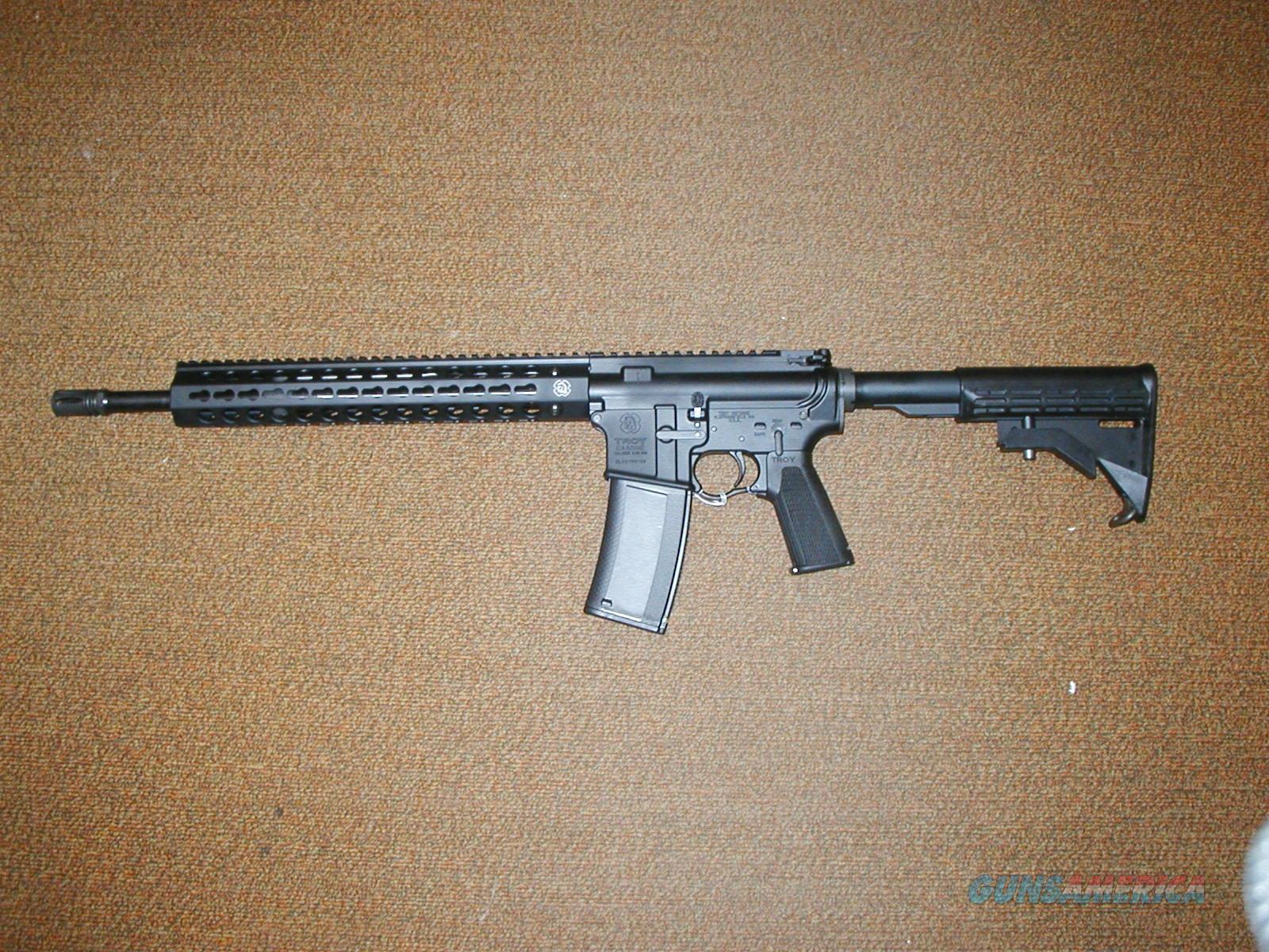 "TROY INDUSTRIES NEW IN BOX CQB-SPC A3 16"" 30 ROUND MAG.  Guns > Rifles > Troy Defense > Troy Defense Rifles"