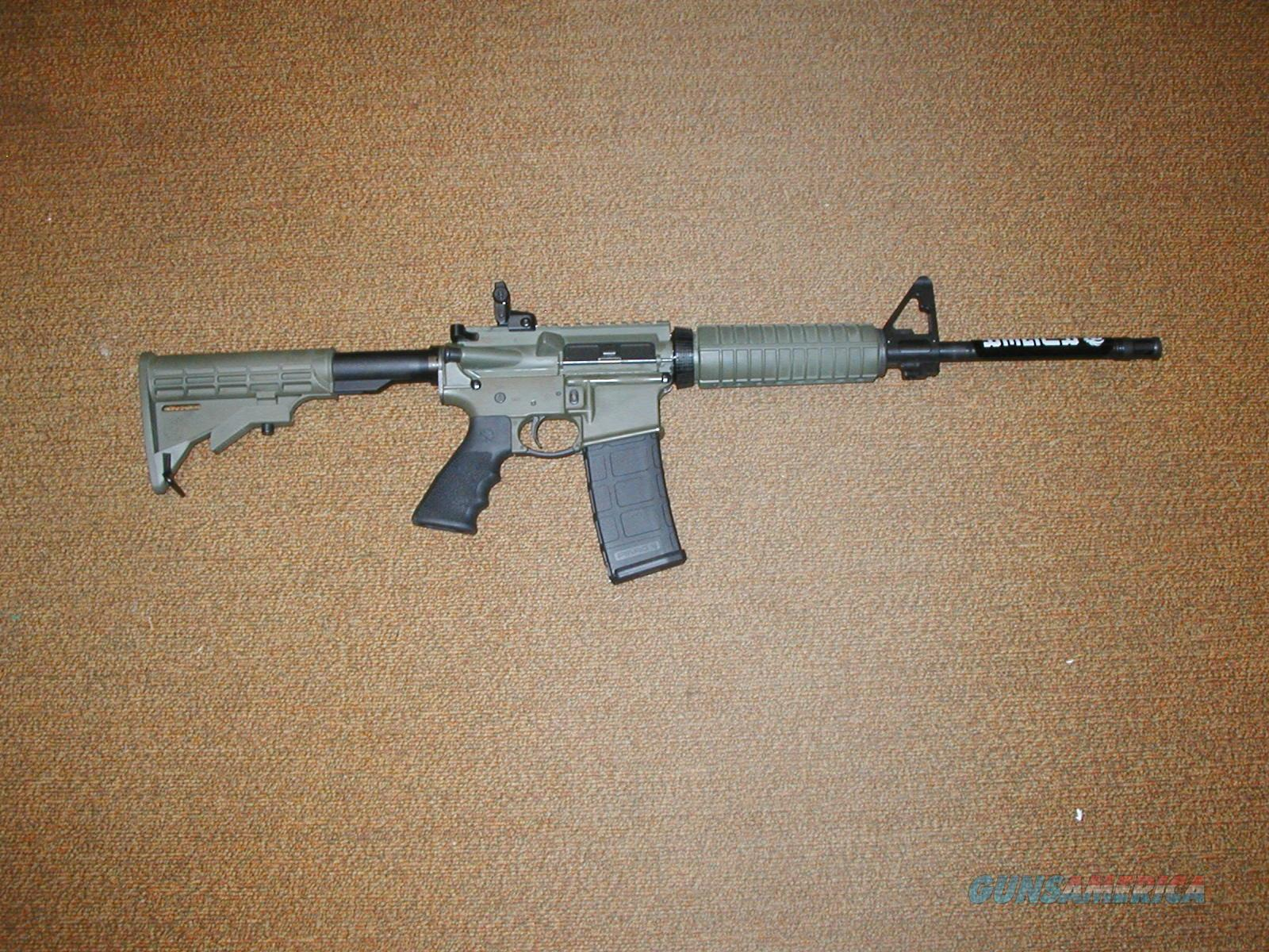 RUGER AR-15 IN TACTICAL OD GREEN NEW IN THE BOX  Guns > Rifles > Ruger Rifles > AR Series