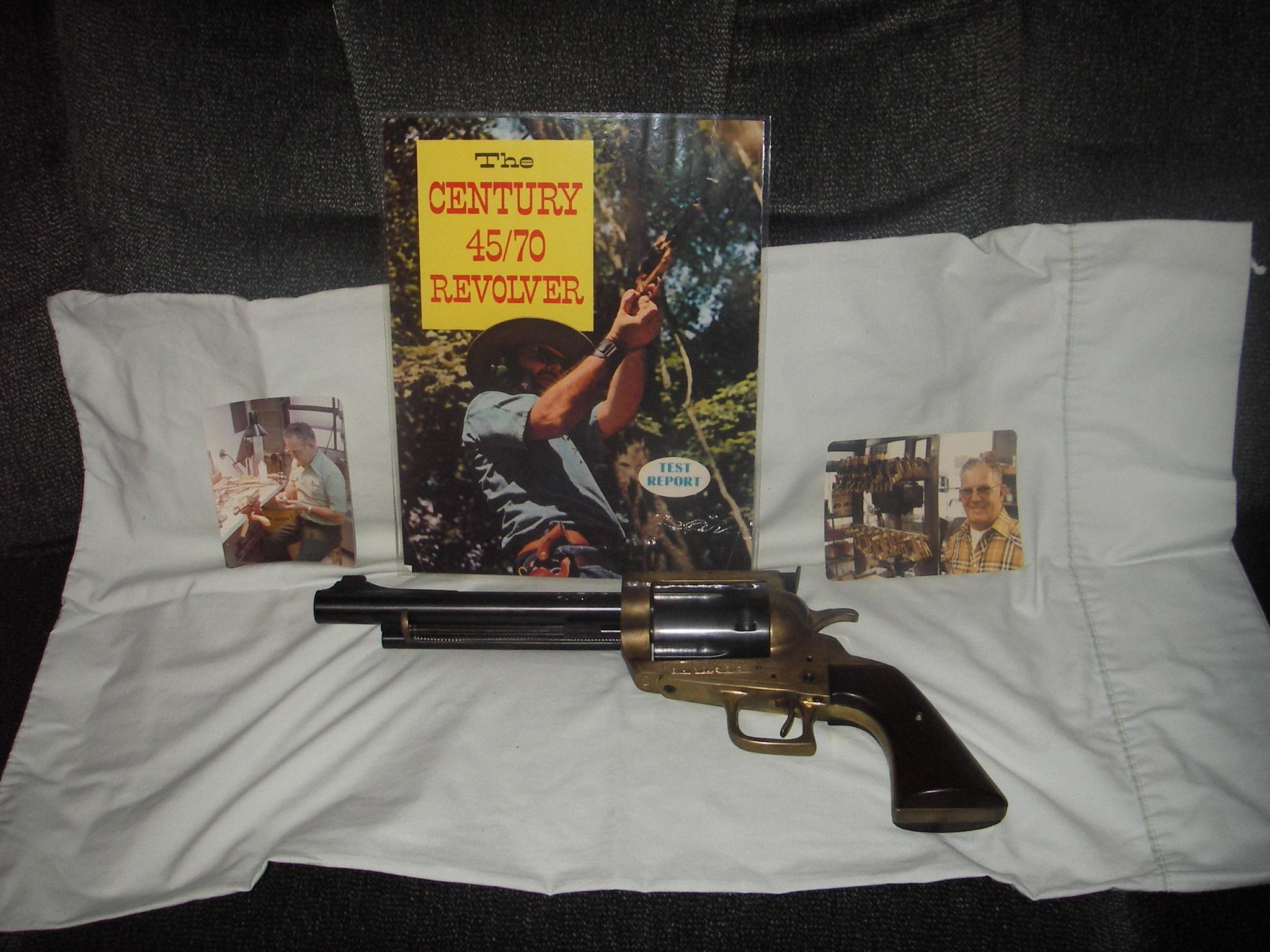 Century Mfg. Model 100 45-70  Guns > Pistols > Custom Pistols > Cowboy Action