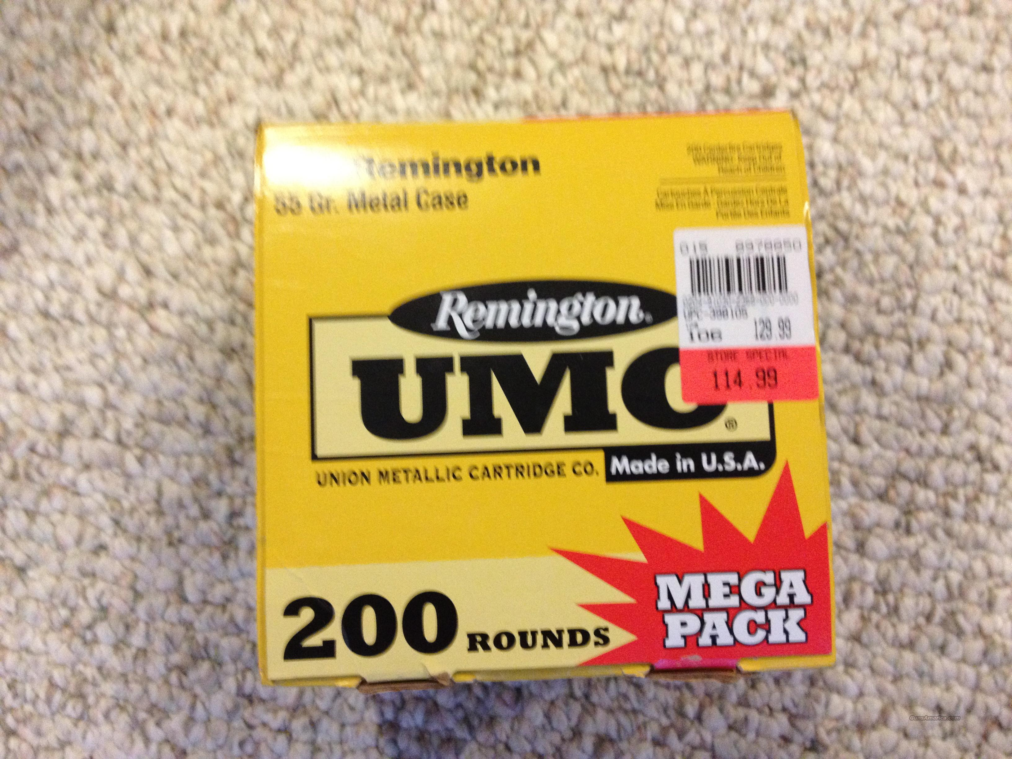 200 Rounds .223 Ammo - 150 Remington UMC 55g Factory Loads and 20 FMJ Reloads + 30 Tracers  Non-Guns > Ammunition
