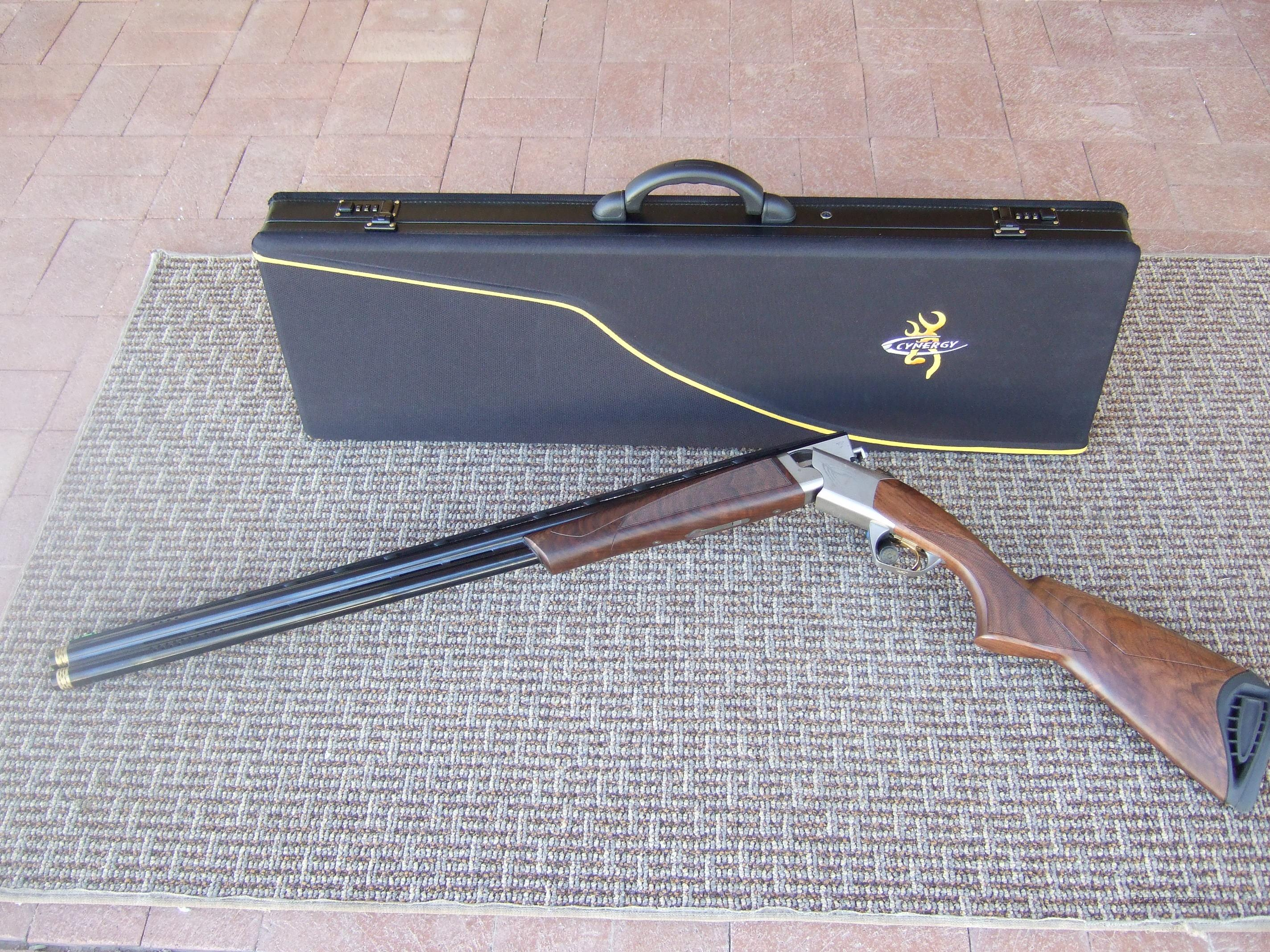 "Cynergy 12 ga. Sporting w/32"" bbls-REDUCED  Guns > Shotguns > Browning Shotguns > Over Unders > Cynergy > Trap/Skeet"