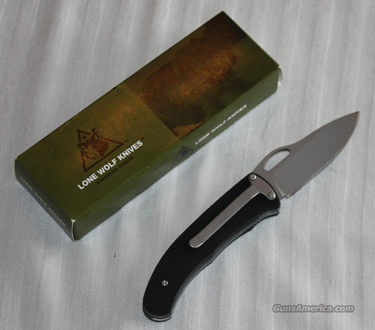 Lone Wolf Double Duty Auto  Non-Guns > Knives/Swords > Knives > Folding Blade > Hand Made
