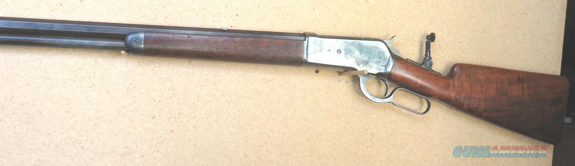 1886 Winchester Rifle, Antique, Cal. 40-65 Win,  26' Oct Bbl, Case Hardened Receiver, Shotgun Butt, Full mag.  Guns > Rifles > Winchester Rifles - Modern Lever > Other Lever > Pre-64