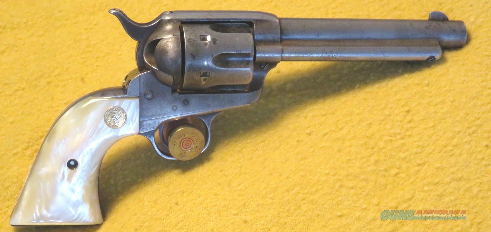 "Colt Single Action Army 32-20 X 5 1/2 "" Barrel  Guns > Pistols > Colt Single Action Revolvers - 1st Gen."