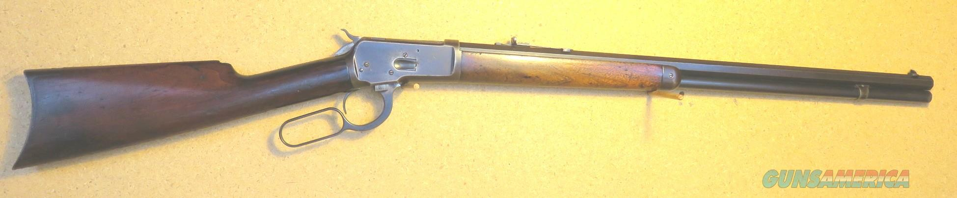 """Winchester 1892 rifle 24"""" OB, CB ,38WCF (38-40)  Guns > Rifles > Winchester Rifles - Modern Lever > Other Lever > Pre-64"""
