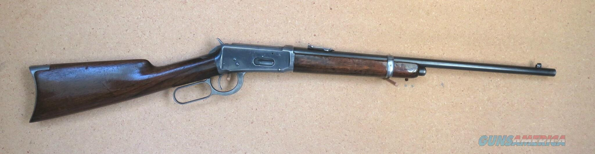Winchester Saddle Ring Carbine, Spec. Order:  half mag, CB, RB,  Guns > Rifles > Winchester Rifles - Modern Lever > Model 94 > Pre-64