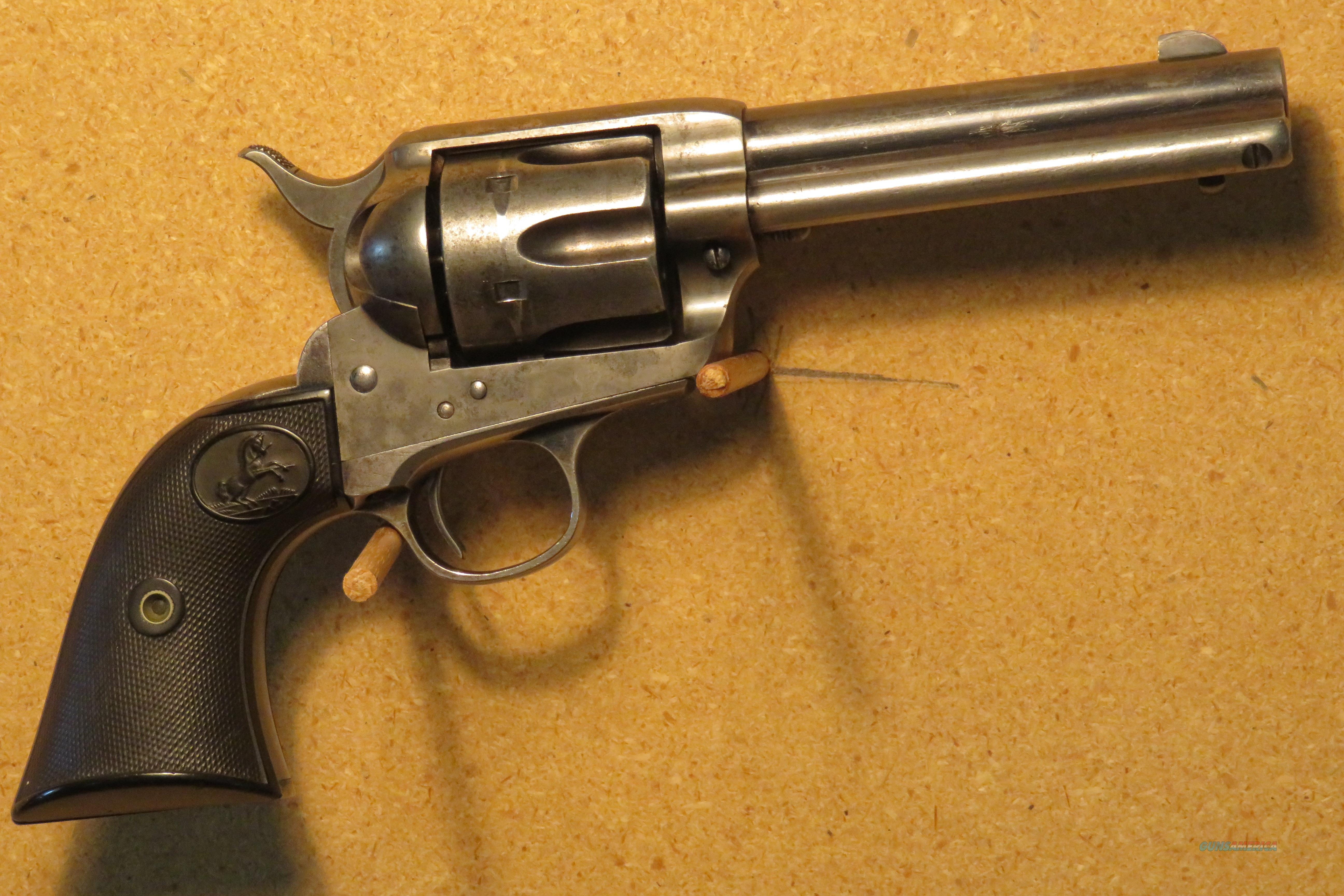 "Colt SAA .32 W.C.F. X  4.75"" First Generation  Guns > Pistols > Colt Single Action Revolvers - 1st Gen."