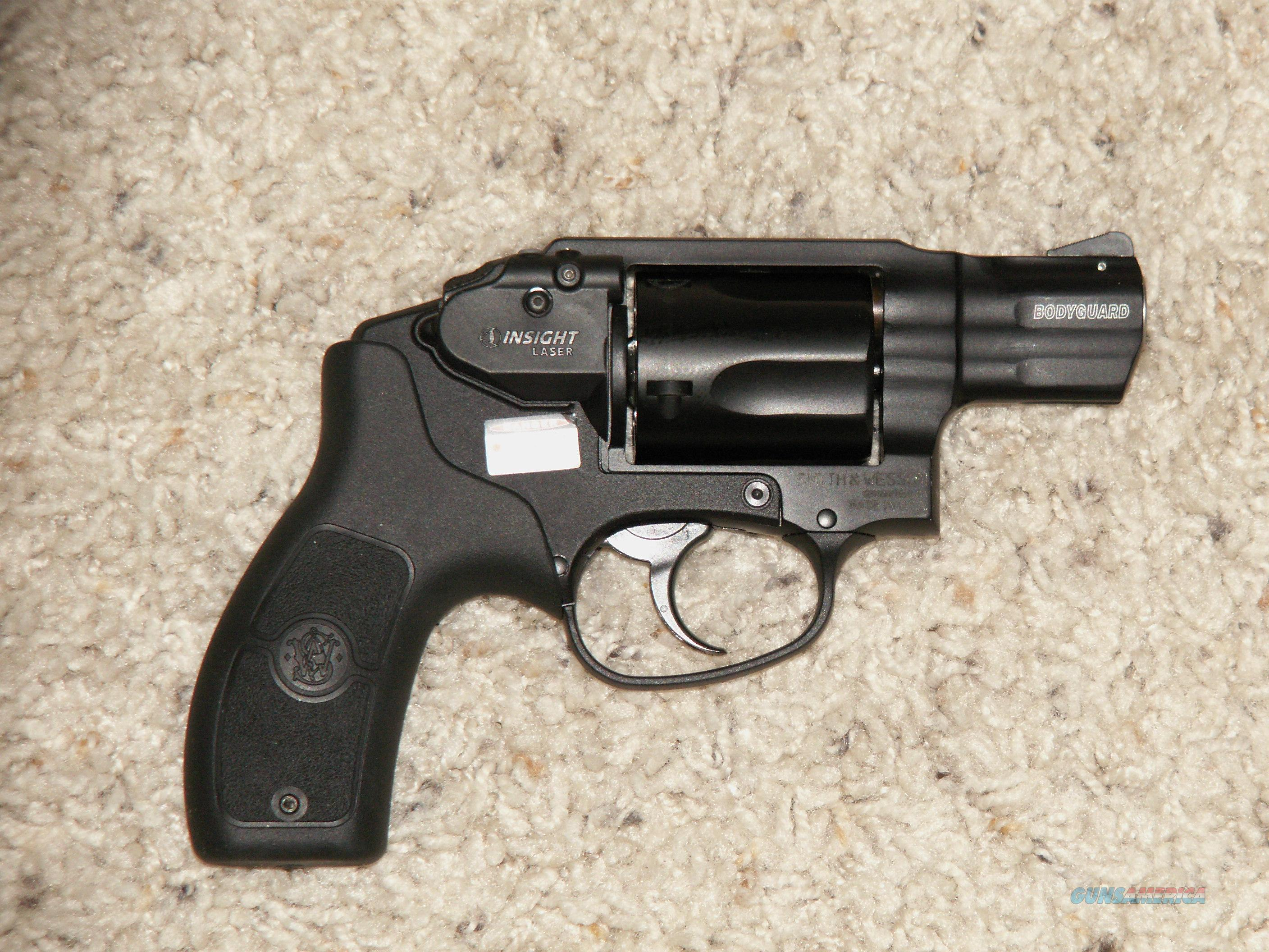 "Bodyguard 38 Laser Sight  +P 38 Special 2""bbl, 5 shot  Guns > Pistols > Smith & Wesson Revolvers > Full Frame Revolver"