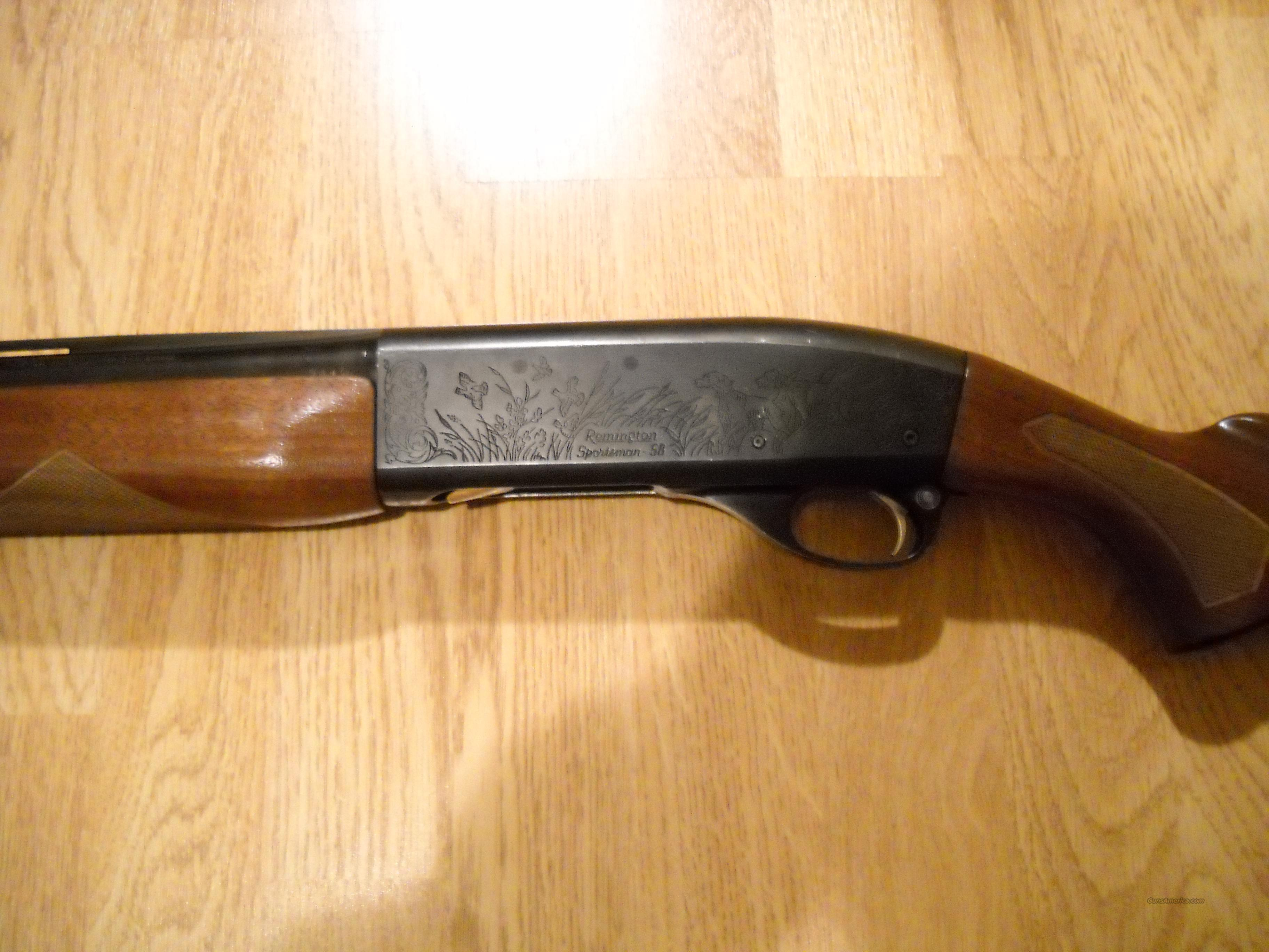 Remington Sportsman 58  Guns > Shotguns > Remington Shotguns  > Autoloaders > Hunting