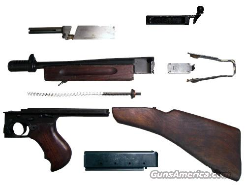 1928A1 SMG Thompson parts kit   Guns > Rifles > Thompson Subguns/Semi-Auto