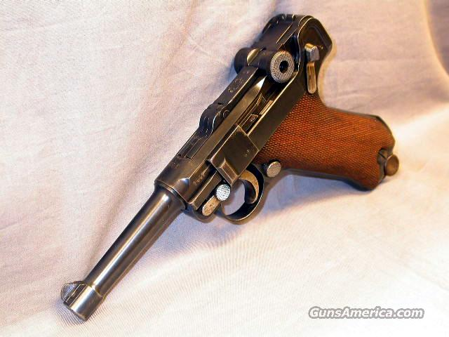 DWM P 08 1916 DATED  Guns > Pistols > Luger Pistols
