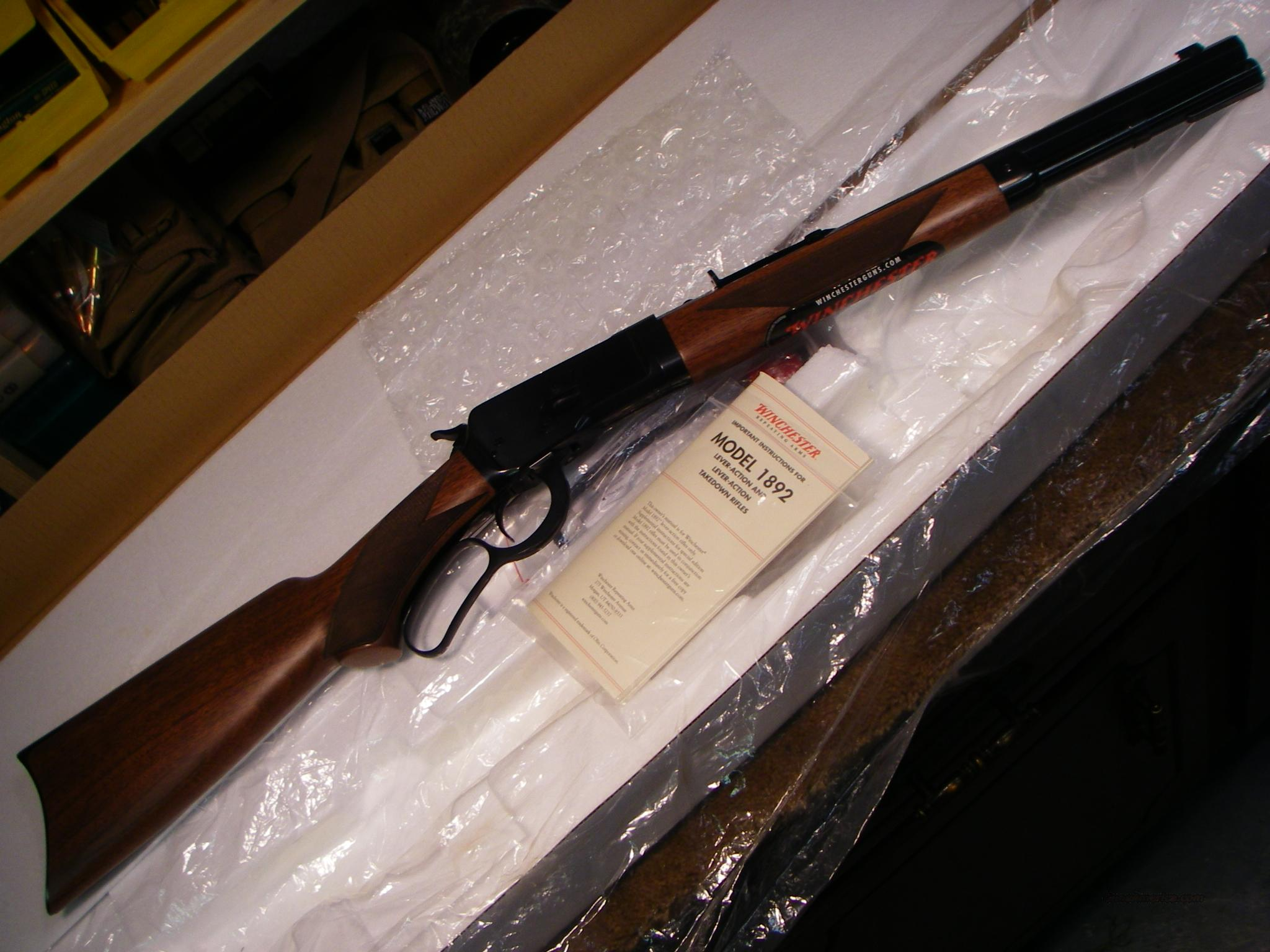 Winchester 1892 trapper deluxe takedown  Guns > Rifles > Winchester Rifles - Modern Lever > Other Lever > Post-64