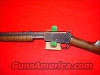 MARLIN 20A PUMP .22  Guns > Rifles > Marlin Rifles > Modern > Bolt/Pump