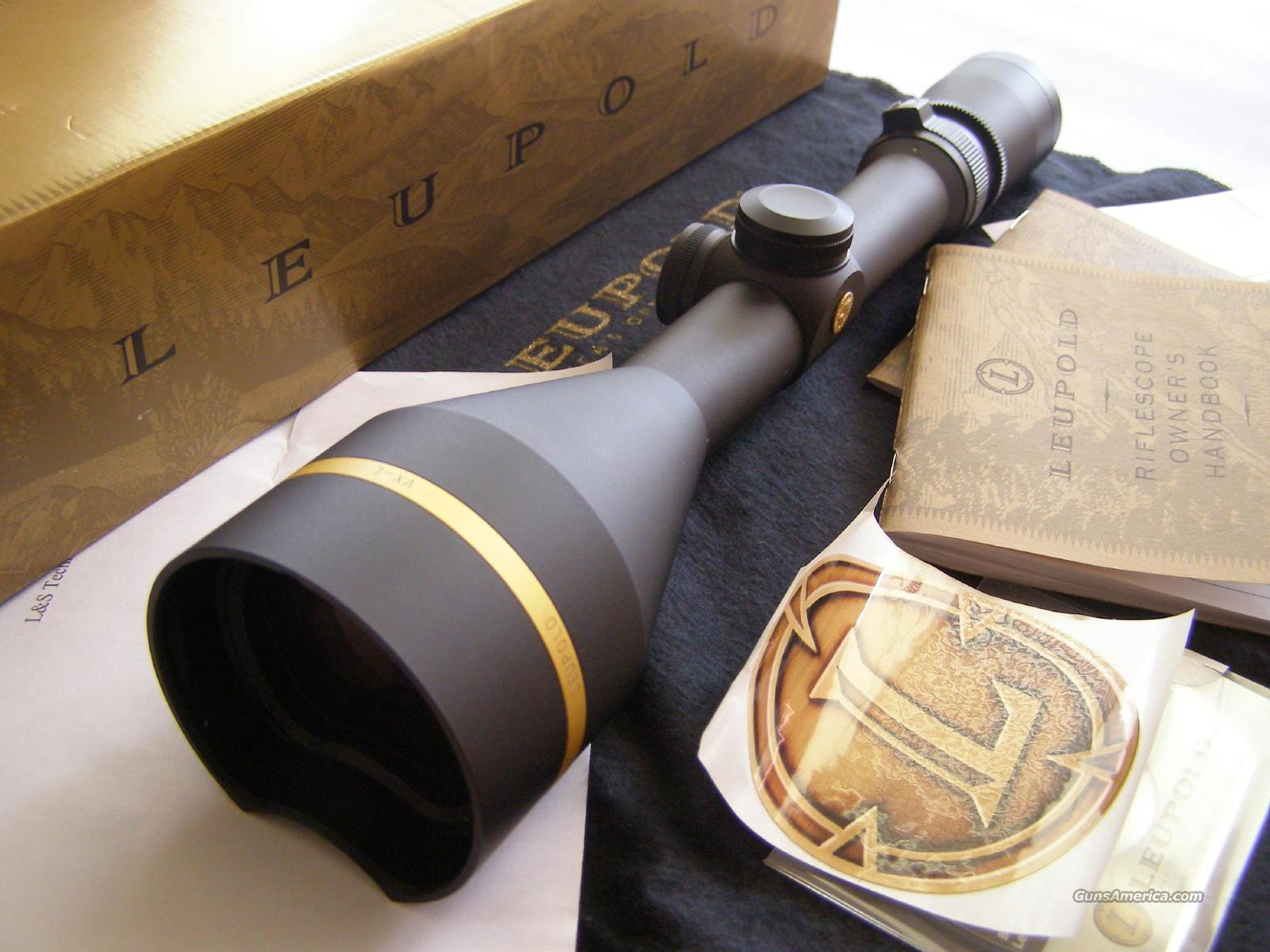 Leupold VXL 4.5-14x50 B&C  Non-Guns > Scopes/Mounts/Rings & Optics