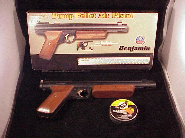 BENJAMIN .20 CAL SS PUMP PISTOL MODEL HB20  Non-Guns > Air Rifles - Pistols > Adult High Velocity