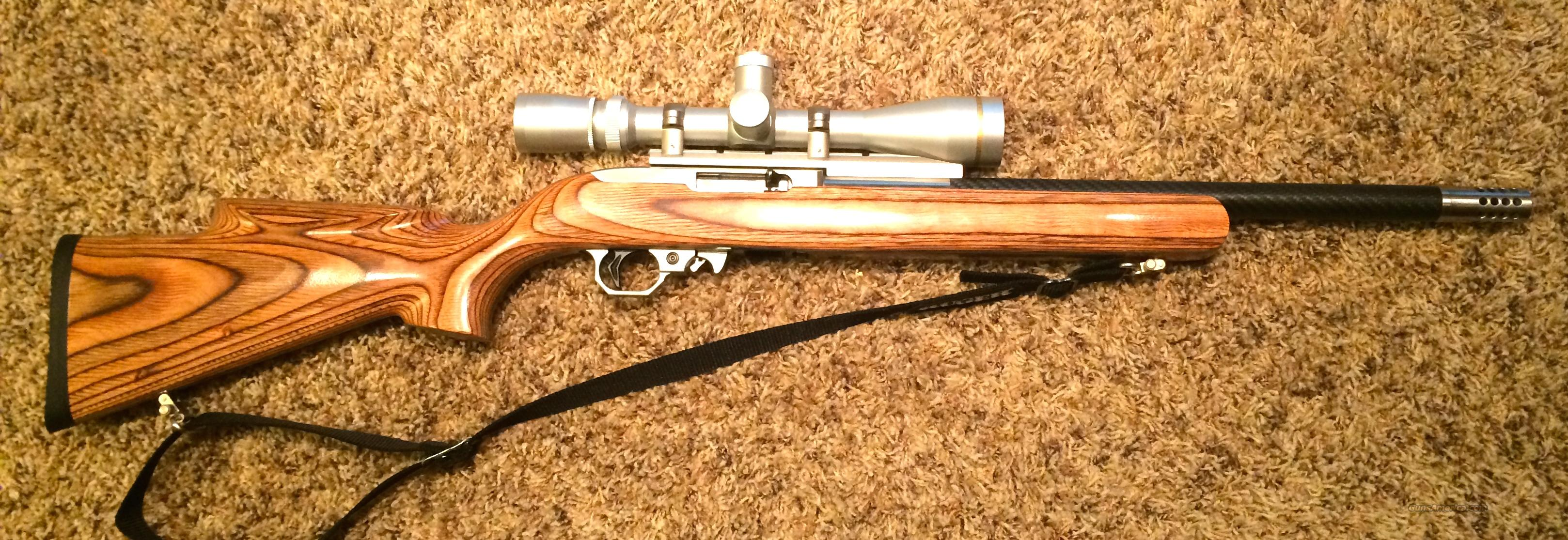 Ruger Volquartsen Custom 22lr Rifle with Leupold Scope  Guns > Rifles > Ruger Rifles > 10-22