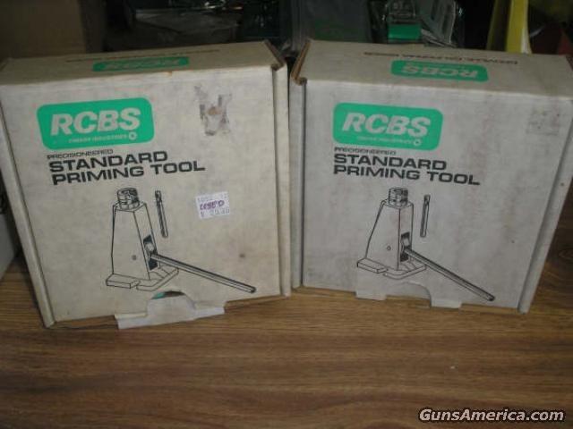 2 RCBS Priming in box NEW  Non-Guns > Reloading > Equipment