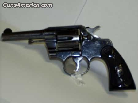 Colt Army Spl. Calif Avail.  Guns > Pistols > Colt Double Action Revolvers- Pre-1945