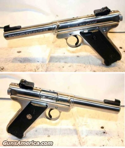 Ruger MKII .22 SS Bull Bar.  Guns > Pistols > Ruger Single Action Revolvers