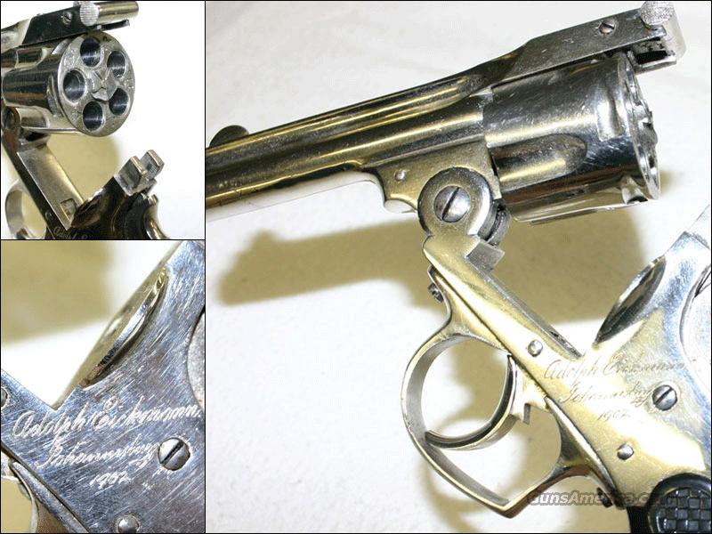 A. Eickman Inscribed rev.  Guns > Pistols > American Arms Pistols