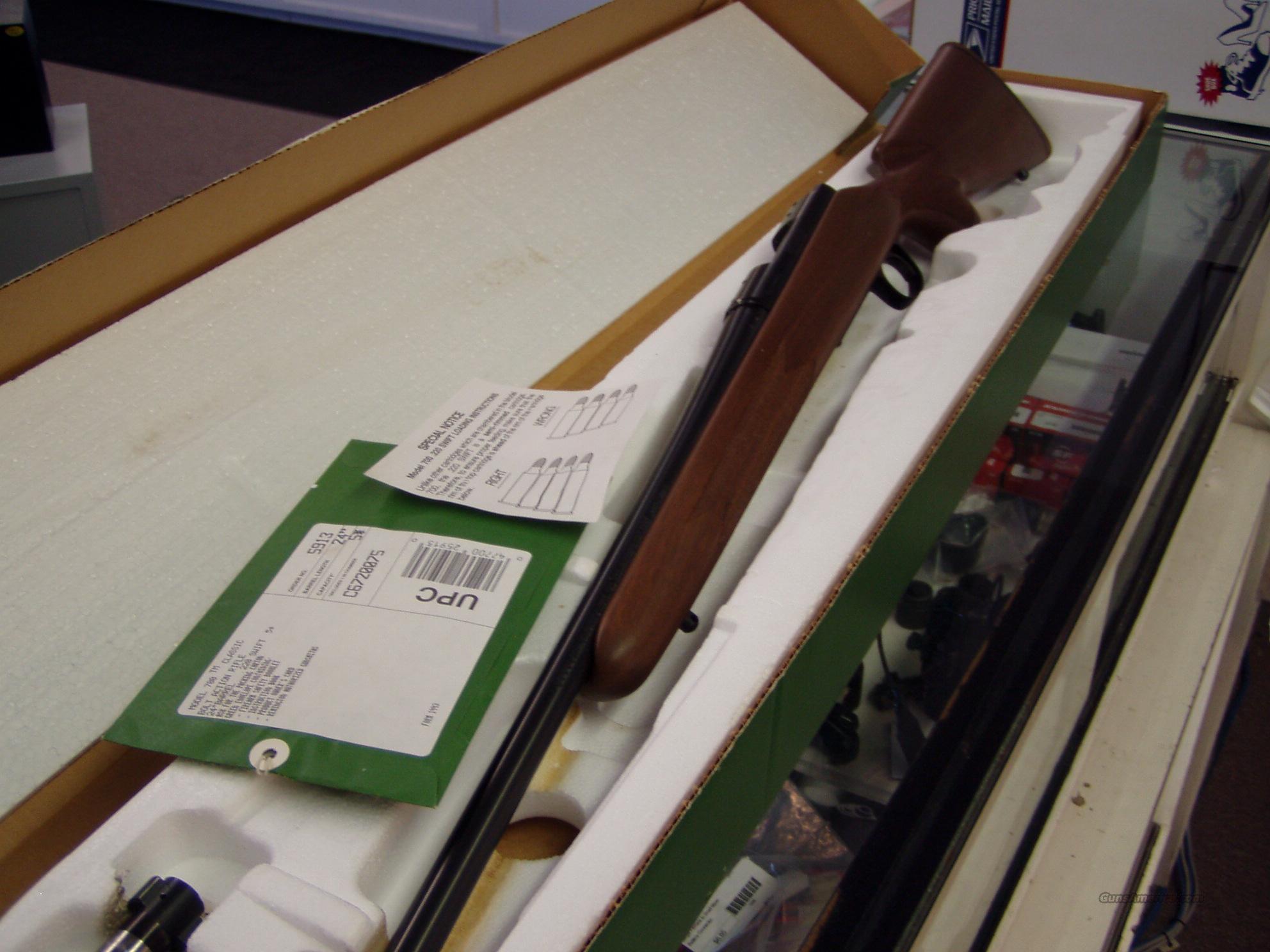 Remington 700 220 Sw  Guns > Rifles > Remington Rifles - Modern > Model 700 > Sporting