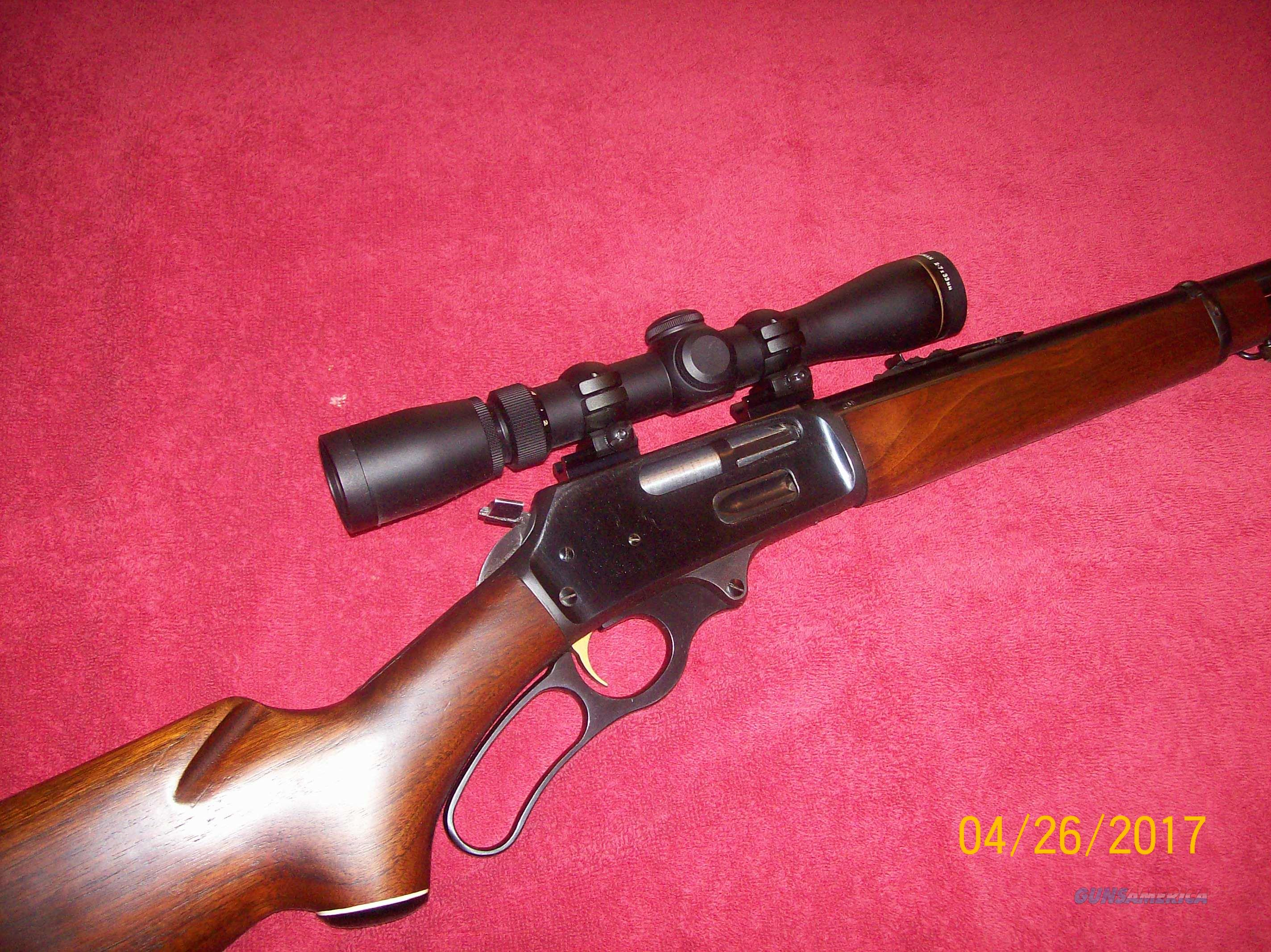 Marlin 336 with Leupold VX-I  2x-7x by 33mm  scope and new pack of Hornady 35 Rem. brass    Guns > Rifles > Marlin Rifles > Modern > Lever Action