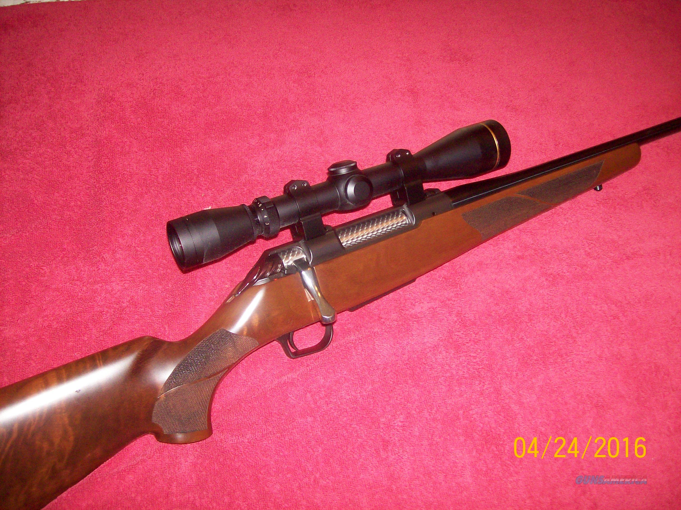 Thompson Center Icon  .243 with Leupold VX-II  3x-9x by 40mm scope in Warne rings   Guns > Rifles > Thompson Center Rifles > Icon