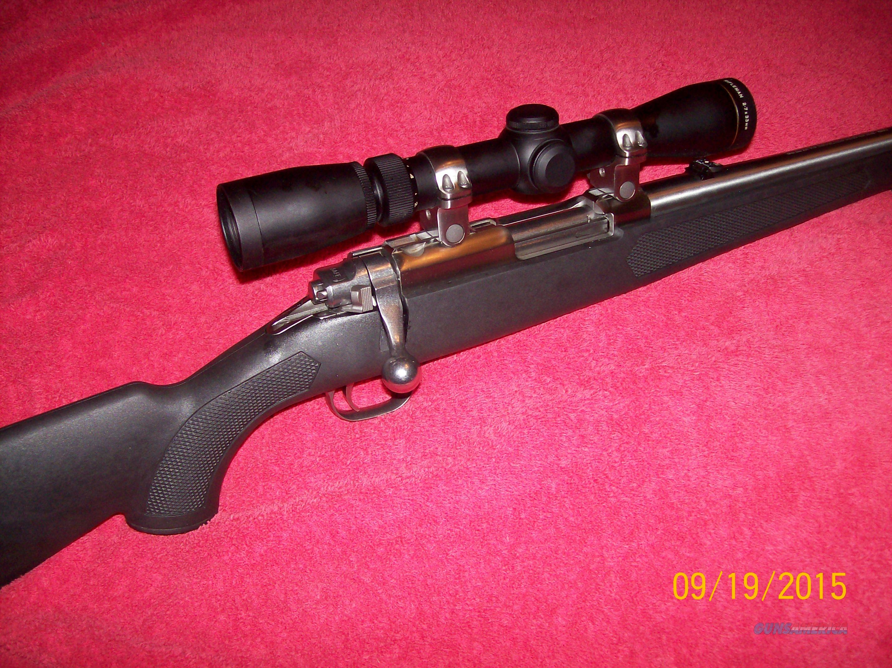 Ruger 77/357 with 2-7x Leupold Rifleman Scope  Guns > Rifles > Ruger Rifles > Model 77