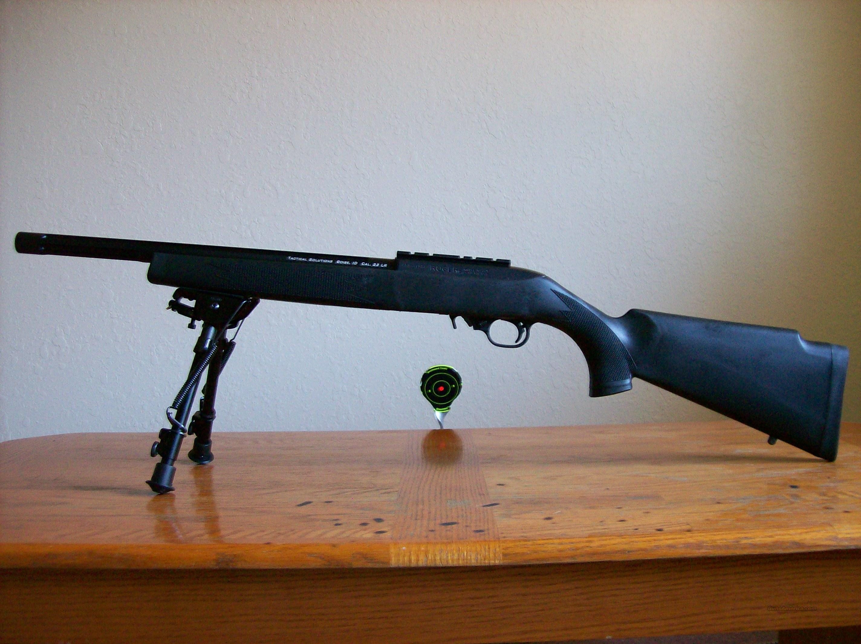 Ruger 10/22 Custom Target Tactical Rifle  Guns > Rifles > Ruger Rifles > 10-22
