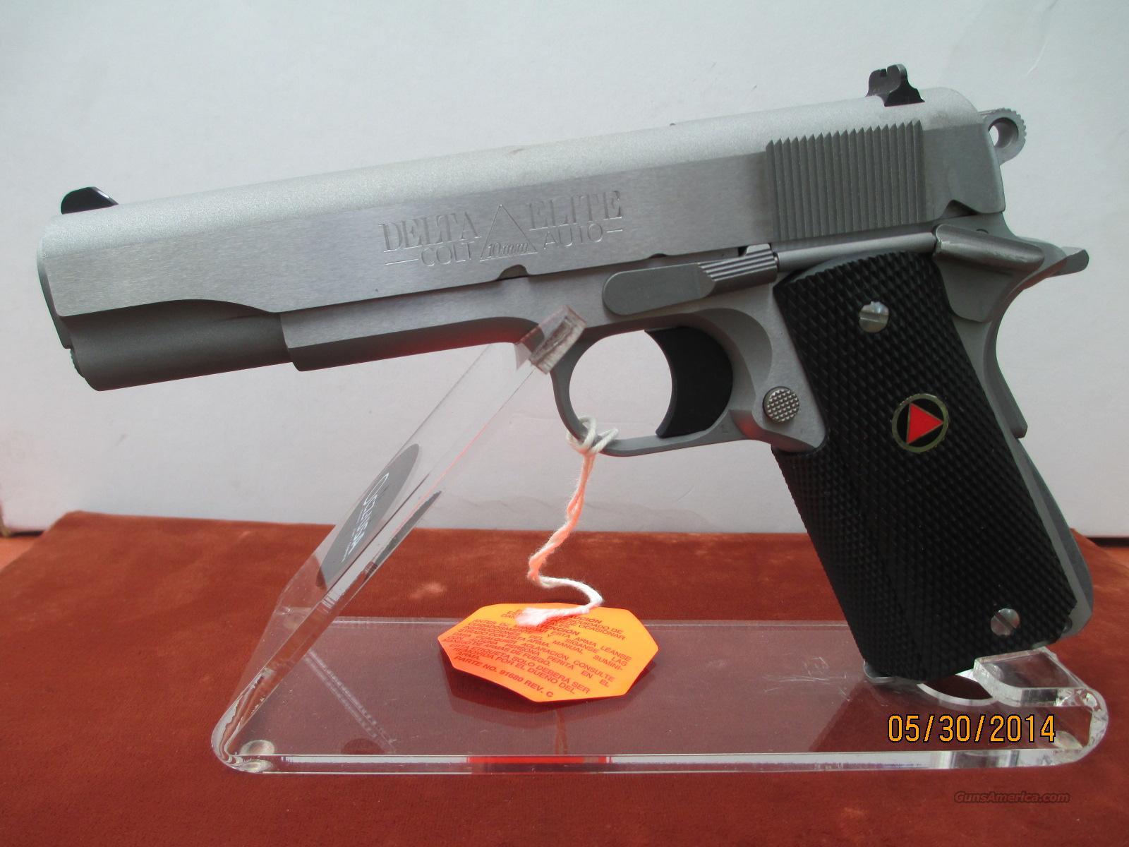 COLT 10MM DELTA ELITE  Guns > Pistols > Colt Automatic Pistols (1911 & Var)