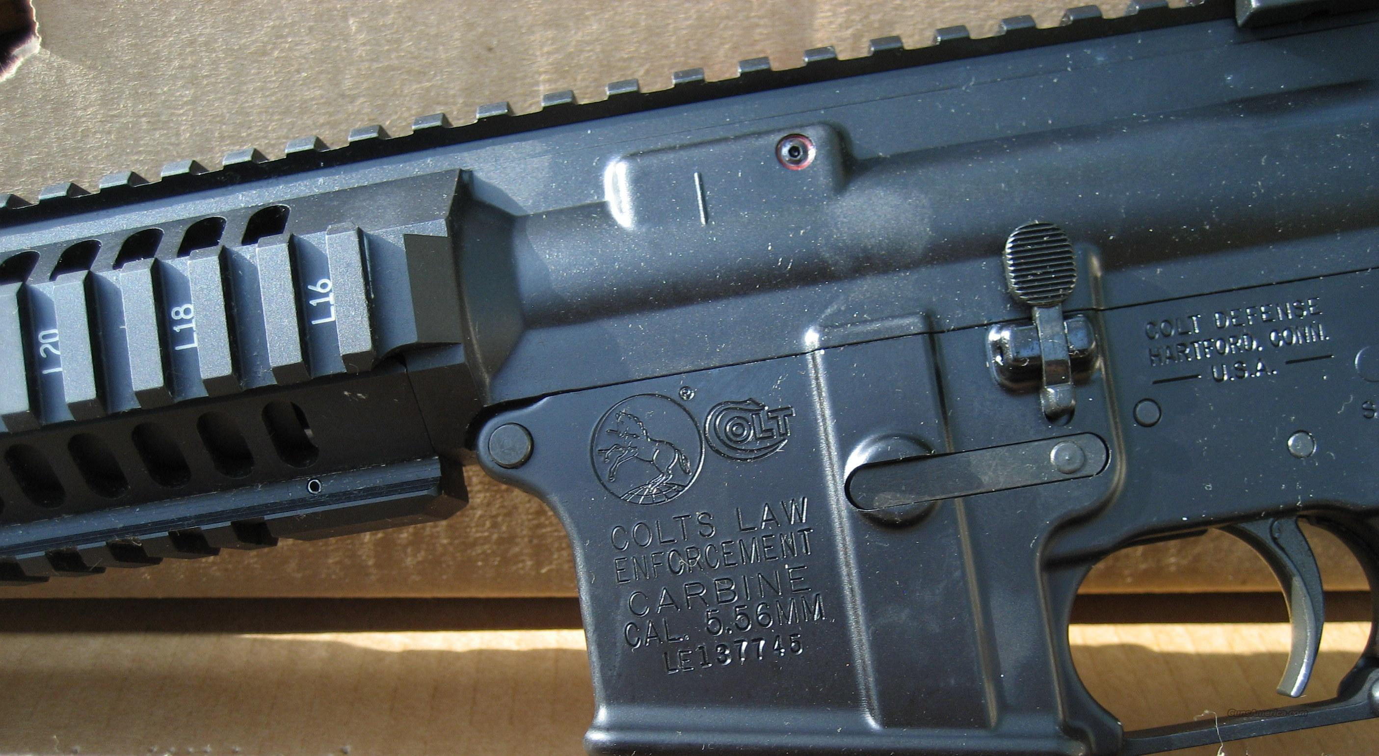 "COLT LE6940 ""LAW ENFORCEMENT CARBINE""  Guns > Rifles > Colt Military/Tactical Rifles"