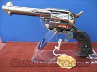 "COLT SAA 4 3/4"" NICKEL 45LC   Colt Single Action Revolvers - 3rd Gen."