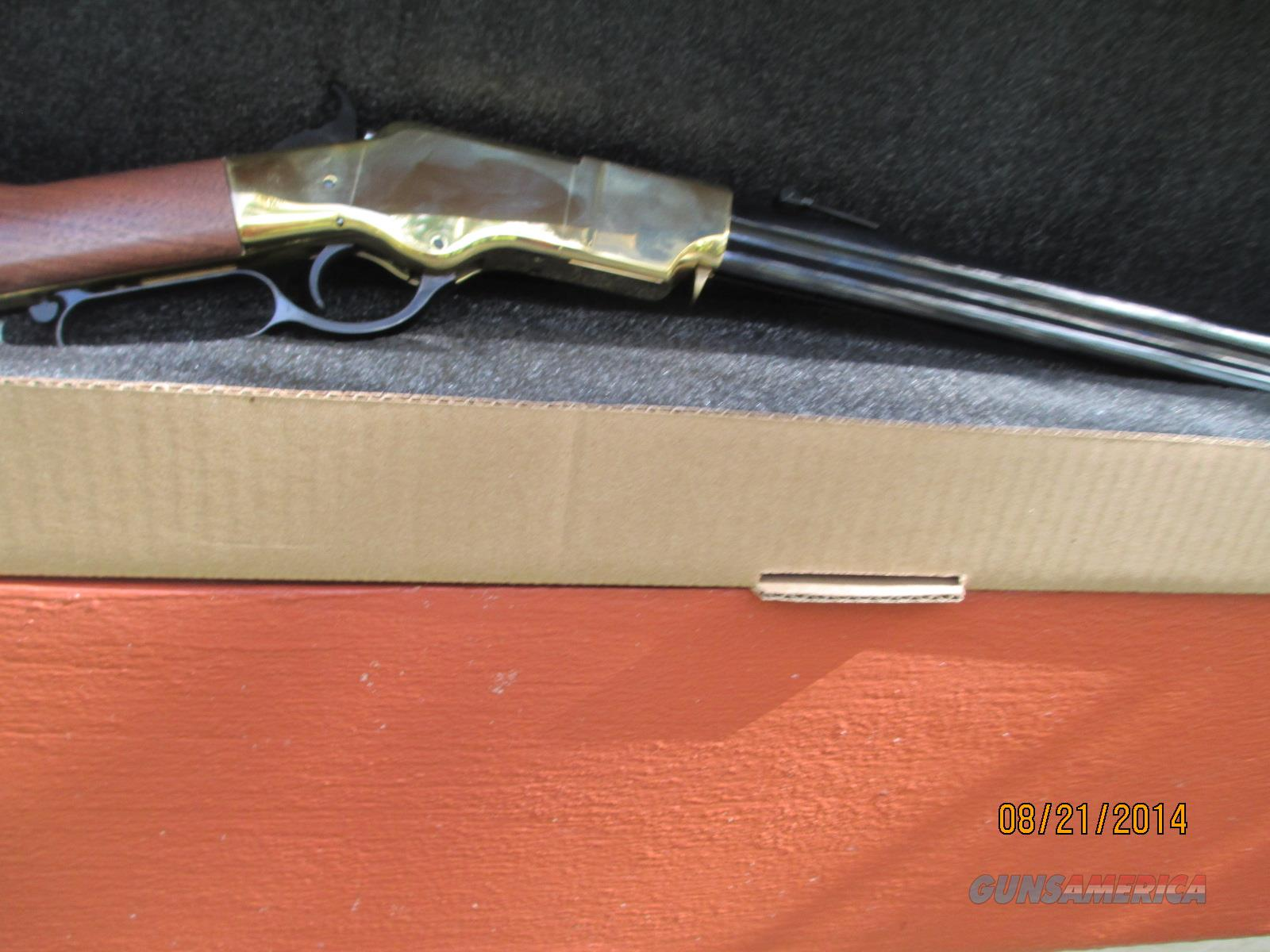 ORIGINAL HENRY BRASS FRAME LEVER ACTION 44-40  Guns > Rifles > Henry Rifle Company