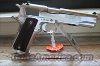 COLT O2071ELC2 BRIGHT STAINLESS STEEL 38 SUPER   Guns > Pistols > Colt Automatic Pistols (1911 & Var)