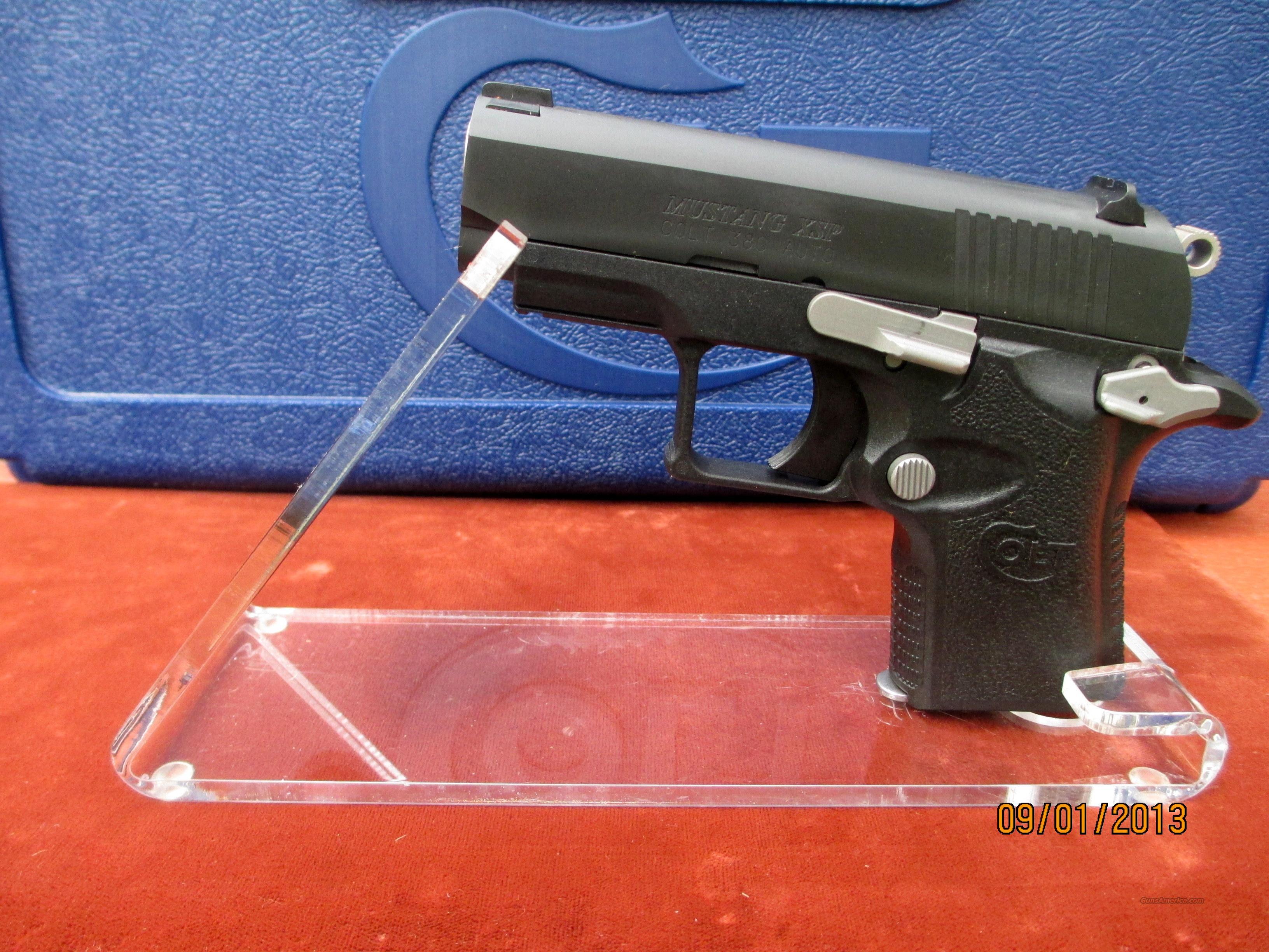 NEW COLT 380ACP POLYMER MUSTANG DISCONTINUED MODEL  Guns > Pistols > Colt Automatic Pistols (.25, .32, & .380 cal)