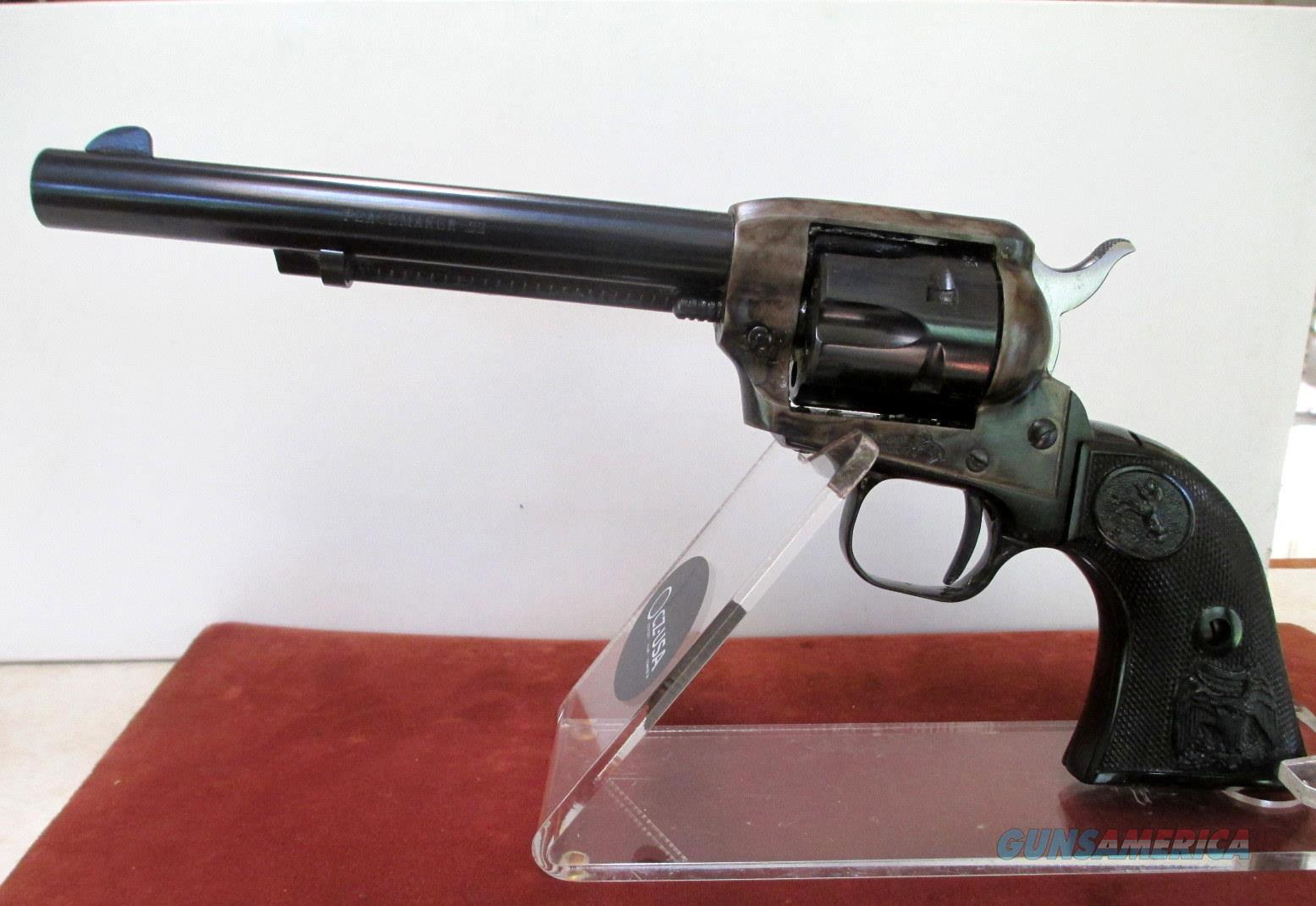 COLT DUAL CYLINDER 22LR/22MAG PEACEMAKER BLUE AND CASE COLORED WITH A 6 INCH BARREL  Guns > Pistols > Colt Single Action Revolvers - Modern (22 Cal.)