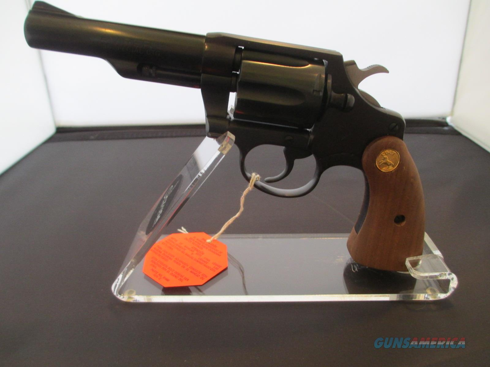 "COLT 4"" VIPER SNAKE GUN CHAMBERED IN 38 SPECIAL  Guns > Pistols > Colt Double Action Revolvers- Modern"