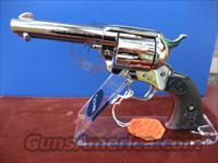 "COLT SAA 4 3/4"" BARREL NICKEL 38-40  Guns > Pistols > Colt Single Action Revolvers - 3rd Gen."